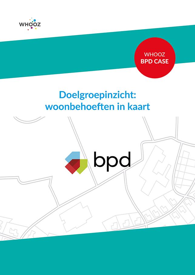 Whooz case - Doelgroep inzicht - woonbehoeften in kaart- BPD