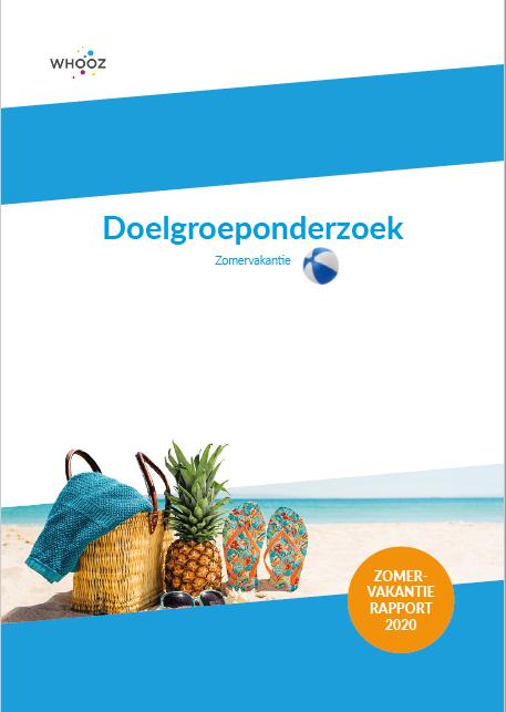 Rapport doelgroeponderzoek zomervakantie 2020