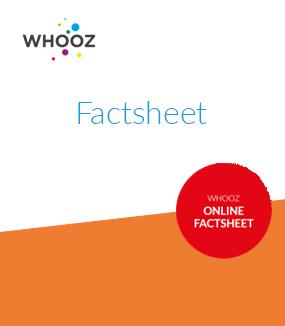 Factsheet Whooz online marketing data download